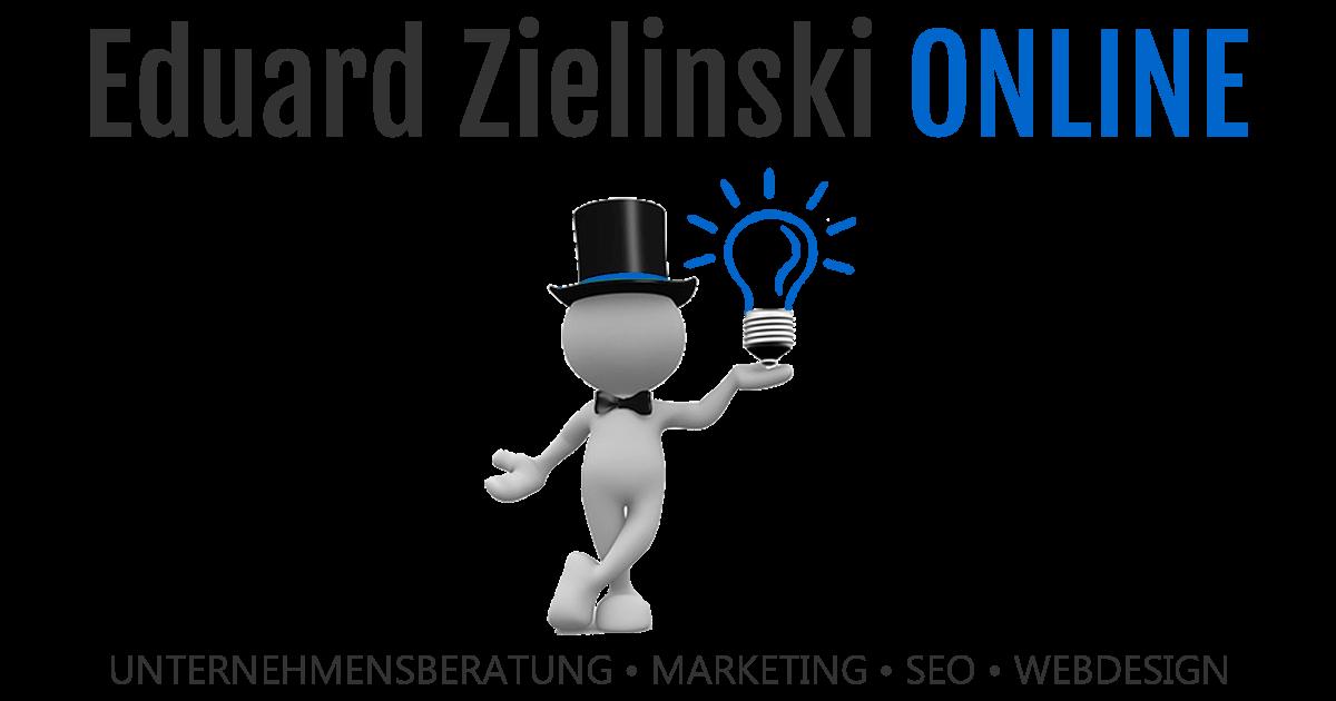 Logo Eduard Zielinski Online
