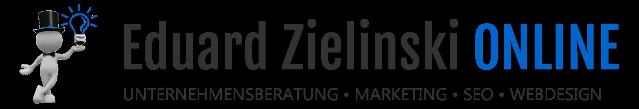 Eduard Zielinski - Unternehmensberatung, Marketing, Webdesign
